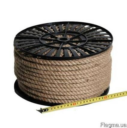 Веревка джутовая 04мм (на катушке 700м)