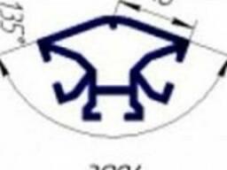 Вертикальный профиль для торгового оборудования T3084