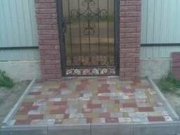 Весь комплекс услуг по укладке тротуарной плитки, брусчатки.