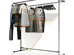 Вешалка для магазинов или гардеробных JS-3