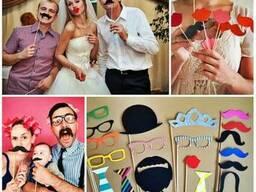 Весільна атрибутика (ширми, арки, стійки, слова, фотобутафор