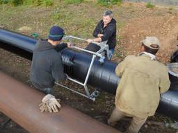Весьма усиленная изоляция стальных труб(ВУС)