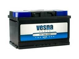 Vesna Power Euro 73 Ah/12V (правый +)
