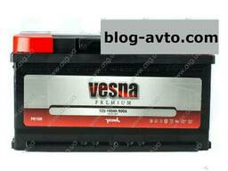 Vesna Premium Euro 100 Ah/12V (правый +)(низький)