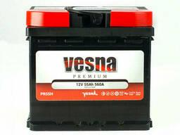 Vesna Premium Euro 55 Ah/12V (правый +)