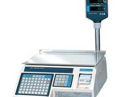 Весы CAS LP-R 1. 6 с функцией печати этикеток