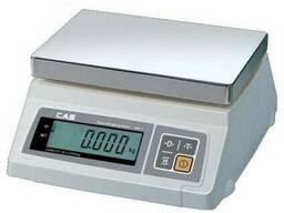 Весы CAS SW-5/SW-10 электронные фасовочные. Новые