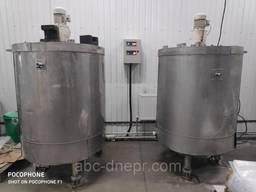 Ваги бункерні для сипучих та рідини від 300кг до 10 тон