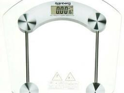 Весы напольные стеклянные Rainberg RB-2003B (квадратные). ..