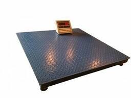 Весы платформенные 1 т 1200х1200 мм (промышленные складские)