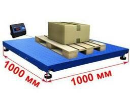 Весы платформенные 1х1 метр 600, 1000, 1500, 2000, 3000 кг
