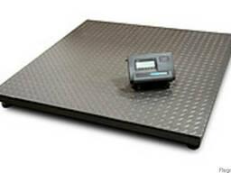 Весы платформенные до 1 тонны