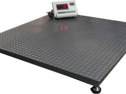 Весы платформенные усиленные 2-3 тонны; ваги посилені
