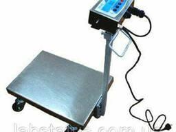 Весы-тележка TB1-150-20-R(400x550)-N-12eha (н/ж)