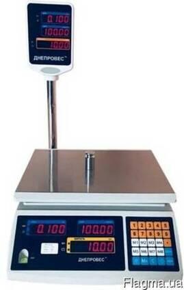 Весы торговые 15 кг (ВТД-ЕД) Днепровес (F902H-EC)