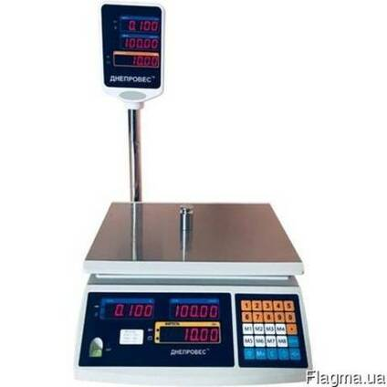 Весы торговые (ВТД-ЕД) — Центровес (F902H-ED) до 3 кг