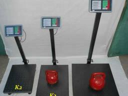 Весы товарные 300 кг TCS-К 2 Олимп