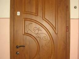 Вхідні квартирні двері колір золотий