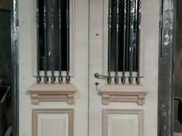 Входные бронированные двери г. Одесса (улица, тамбур) - фото 1