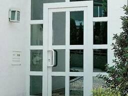 Входные двери металлопластиковые Rehau от Дизайн Пласт