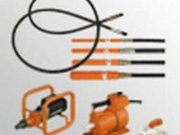 Вибратор глубинный электромеханический и комплектующие.