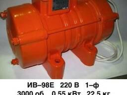 Вибратор площадочный 220 В — ИВ-98Е однофазный