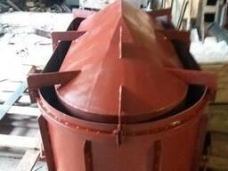 Виброформа для изготовления бетонных колец.