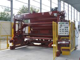 Виброформовочная машина CGM ТC2 для производства железобетонных изделий (ЖБИ)
