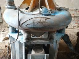 Вибромельница тороидальная из нержавеющей стали 0, 4м3