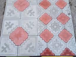 Віброплита тротуарна плитка кармен та кармен декор