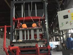Вибропресс для производства дородного бордюра ПС-150
