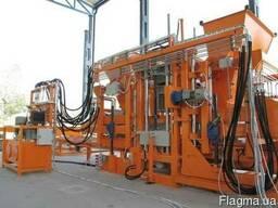 Вибропресс для производства тротуарной плитки U-1500 Швеция