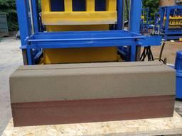 Вибропресс КВП-858 для производства дорожного бордюра 1 метр