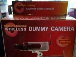 Видеокамера-обманка (камера обманка муляж с датчиком движени