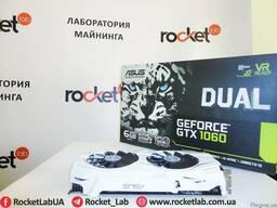 Видеокарта ASUS DUAL-GTX1060-6G