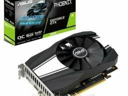 Видеокарта ASUS GeForce GTX1660 6144Mb Phoenix OC. ..