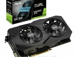 Видеокарта ASUS GeForce GTX1660 Ti 6144Mb DUAL OC EVO. ..