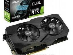 Видеокарта ASUS GeForce RTX2060 6144Mb DUAL Advanced EVO. ..