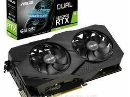 Видеокарта ASUS GeForce RTX2060 6144Mb DUAL EVO. ..