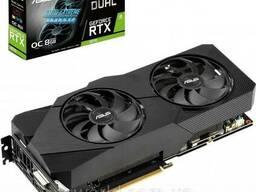 Видеокарта ASUS GeForce RTX2070 8192Mb DUAL OC EVO. ..