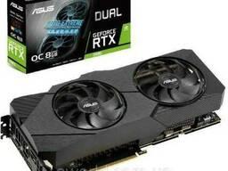 Видеокарта ASUS GeForce RTX2080 8192Mb DUAL OC EVO. ..