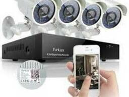 Видеонаблюдение Установка охранной системы IP видеонаблюдени