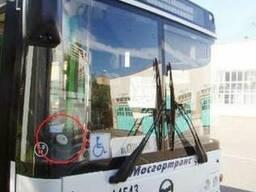 Видеонаблюдение в автобус. Установка.