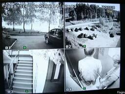 Видеонаблюдение за автомобилем во дворе из квартиры