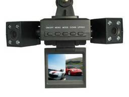 Відеореєстратор з 2 камерами Two Camera Car Dvr