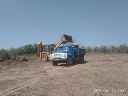 Відсів пісок щебень дрова