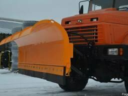 Відвал для підгортання снігу до автомобілів
