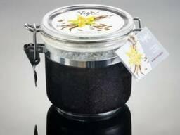 Vigor Cosmetique Naturelle Солевой Скраб для рук и тела «Ванильный Кофе» 200мл