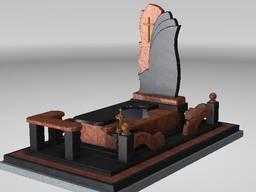 Пам'ятники, плитка, столи, столешні та ін. граніту та габро
