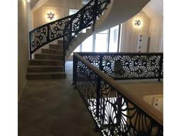 Металеві перила, сходи, балкон від виробника
